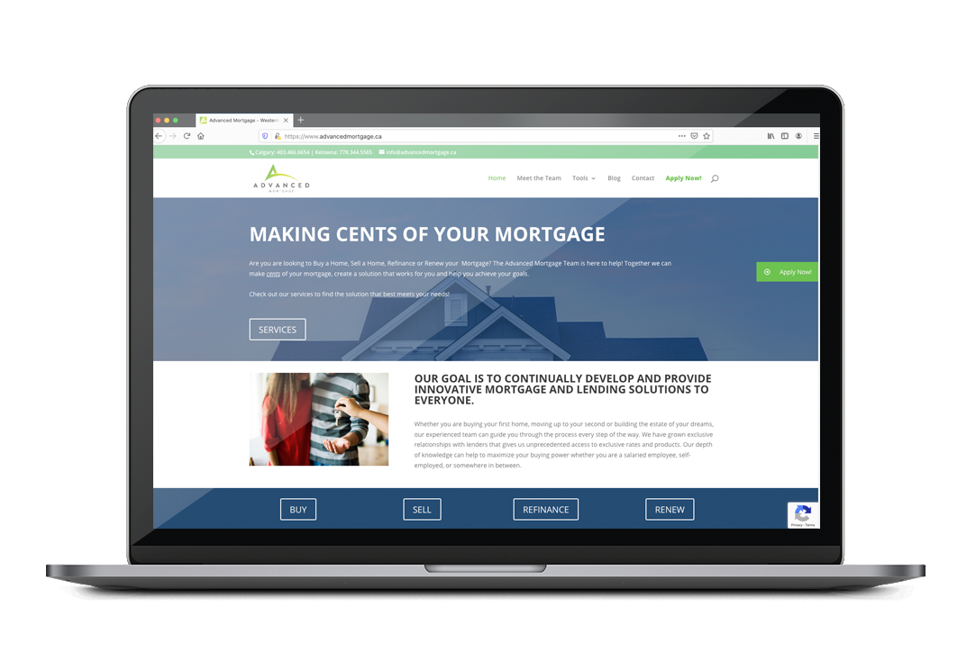 TRL Solutions - Advanced Mortgage -Website Design